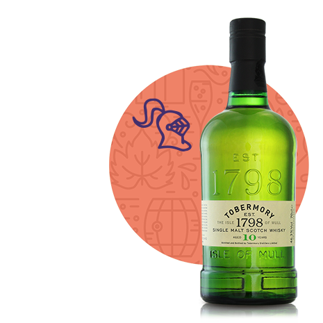 Tobermory Distillery, Whisky Tobermory 10 ans 46,3