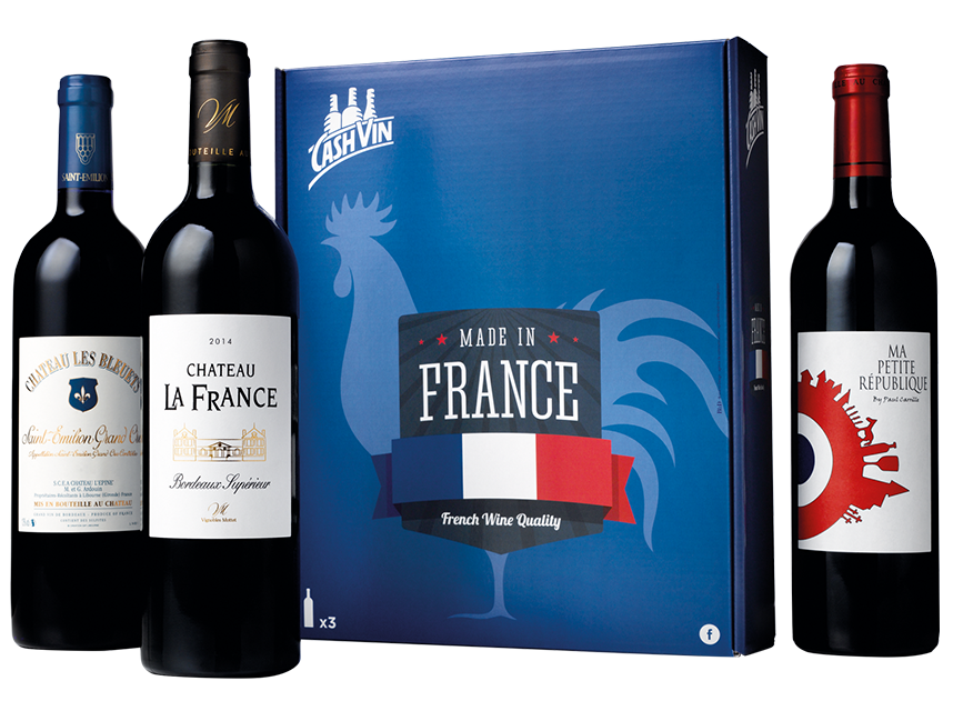 Made in France, Coffret 3 bouteilles