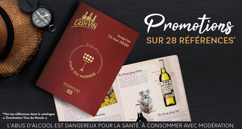Cash Vin - Destination Vins du Monde !