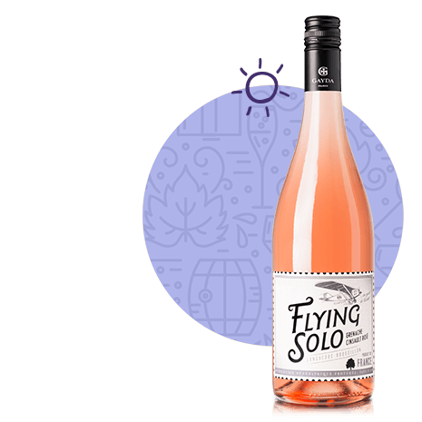 Flying Solo Rosé,