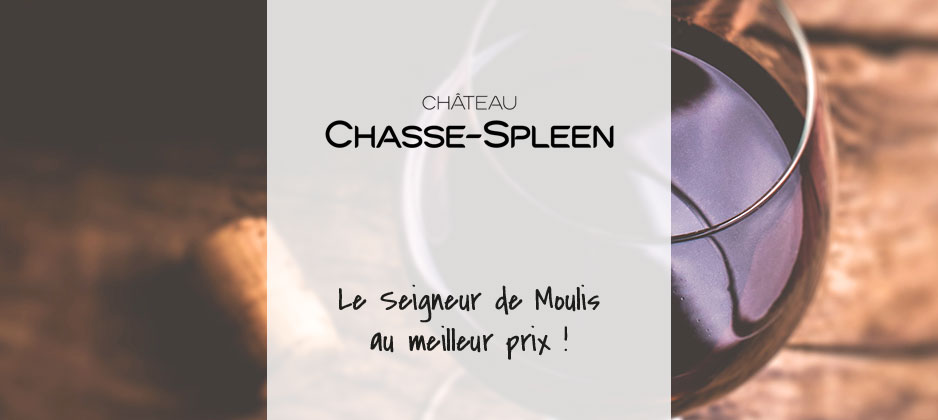 Château Chasse Spleen – Moulis – 2016